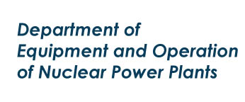 Department of Equipment and Operation of Nuclear Power Plants